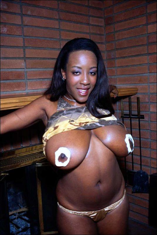 Delotta brown busty black babe - 3 part 1